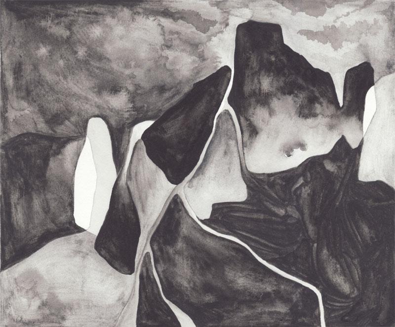 Waterloo Suite Collet Redon, 2014. Aquarelle. 20 × 20 cm